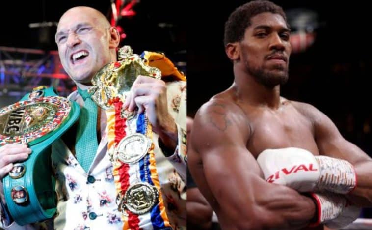 Tyson Fury y Anthony Joshua