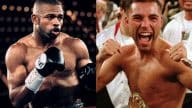 Roy Jones Jr. y Óscar de la Hoya