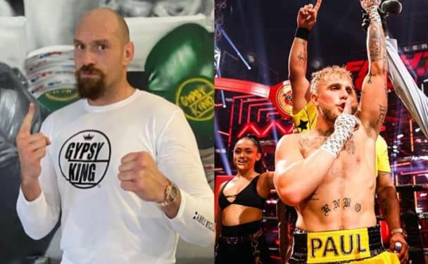 Tyson Fury y Jake Paul