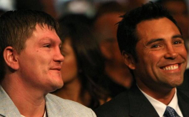 Ricky Hatton y Manny Pacquiao