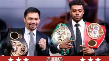 Manny Pacquiao y Errol Spence