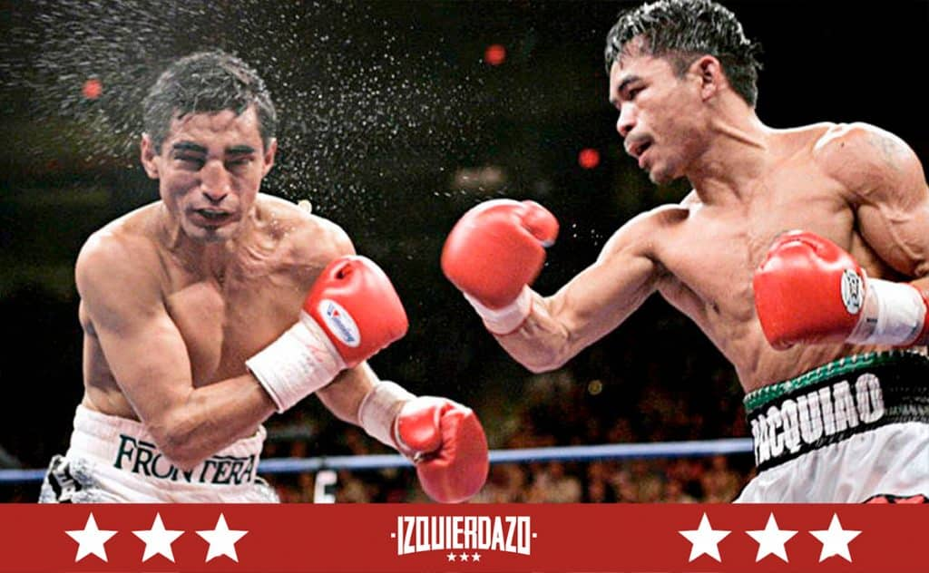 Terrible Morales y Manny Pacquiao